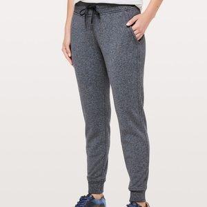 Lululemon Dark Gray Warm Down Jogger Sweat Pants